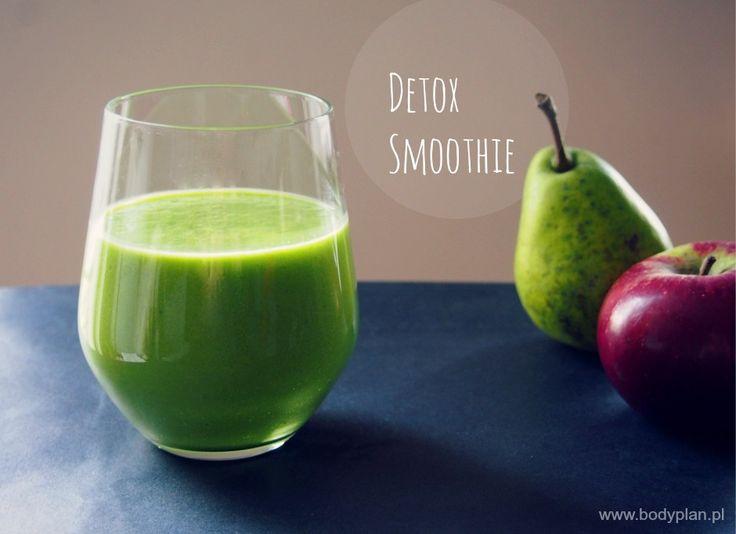 Zielone detox smoothie