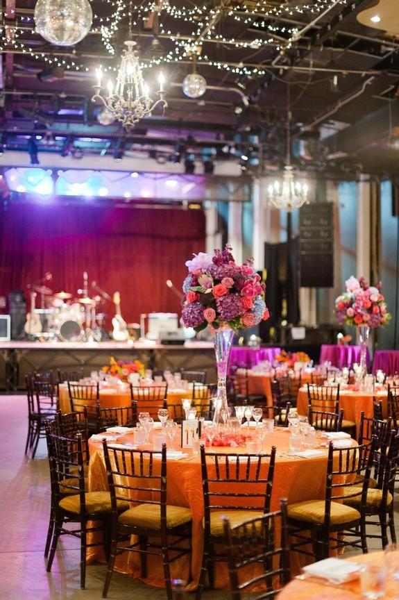 Cheery Celebration Wedding Wedding At Varsity Theater Linen Effects Wedding Event And Party Rental Decor Wedding Rentals Wisteria Design Rental Decorating