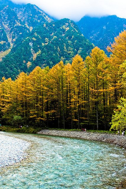 Kamikochi, Nagano, Japan  Amazingly Peaceful:)