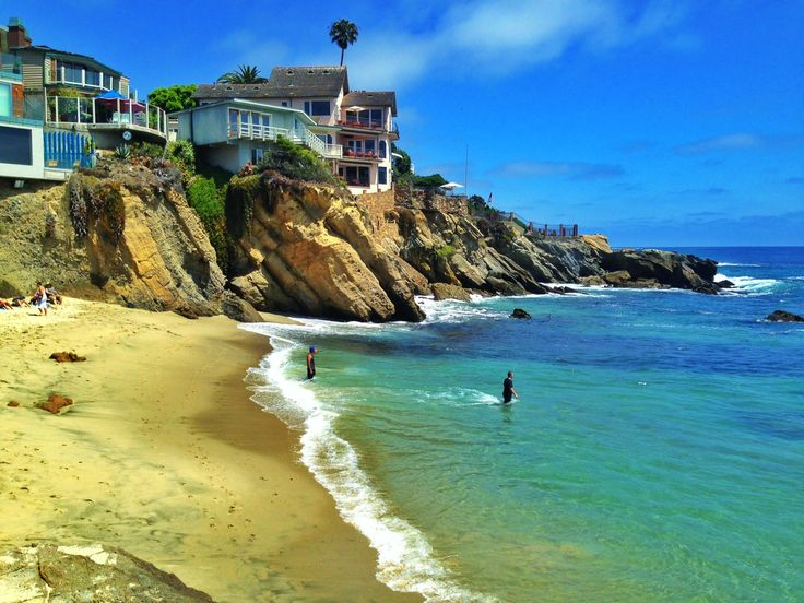 Woods Cove Beach In Laguna Is The Best For Snorkeling Whenever I Visit This With My Husband And Kids We Always Take Turns To Snorkel Aro
