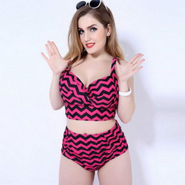 $18.96 (Buy here: https://alitems.com/g/1e8d114494ebda23ff8b16525dc3e8/?i=5&ulp=https%3A%2F%2Fwww.aliexpress.com%2Fitem%2FPlus-Size-Two-Piece-Swimwear-2016-New-High-Waist-Striped-Swimsuit-Sexy-Womans-Bikini-Swimsuit-Women%2F32707116164.html ) Plus Size Two Piece Swimwear 2016 New High Waist Striped Swimsuit Sexy Womans Bikini Swimsuit Women Beachwear Hot Sale for just $18.96