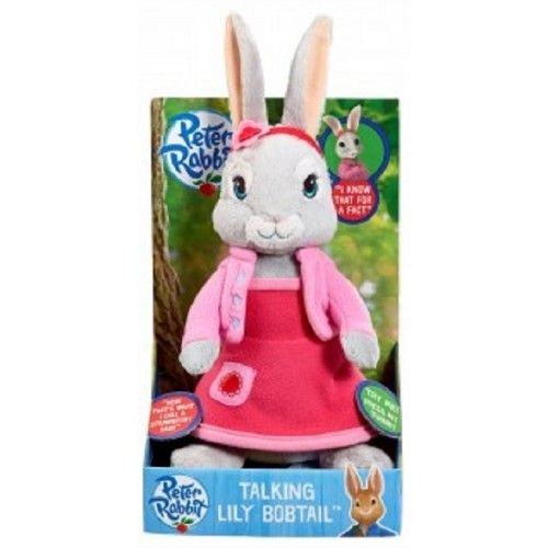 Talking Lily Bobtail from Peter Rabbit Soft Toy Plush