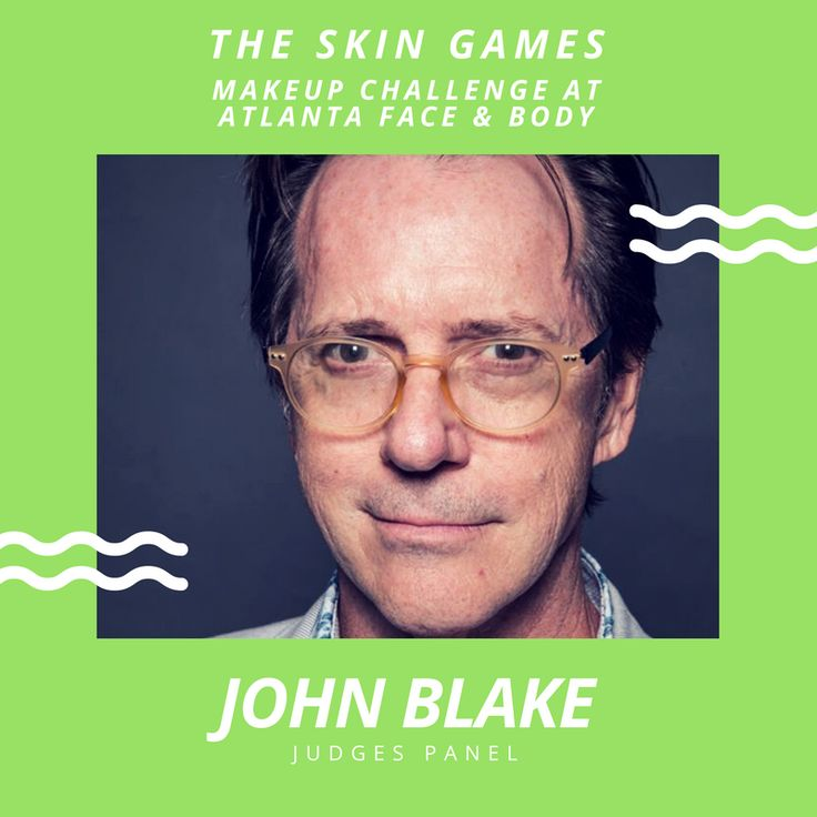 Check out John's credits 😃 I can't even believe we have JOHN BLAKE award-winning makeup artist on our panel of judges. He is Robert Downing Jr's personal MUA and has worked as makeup department head on more than 60 MAJOR BLOCKBUSTERS! His last being THE GUARDIANS OF THE GALAXY! WOOOOO HOOOO! What an opportunity for all of our MUA's in The Skin Games Makeup Challenge in Atlanta on October 8-9, 2017…