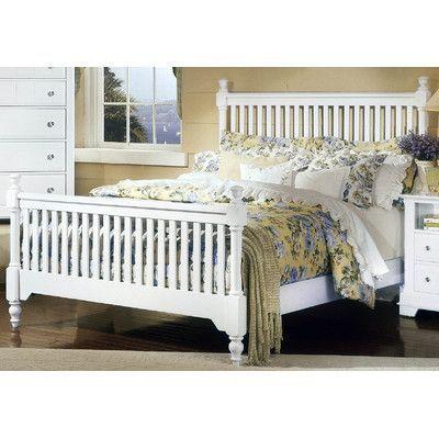 Darby Home Co Marquardt Wood Frame Headboard White Headboard Bed Bed Slats