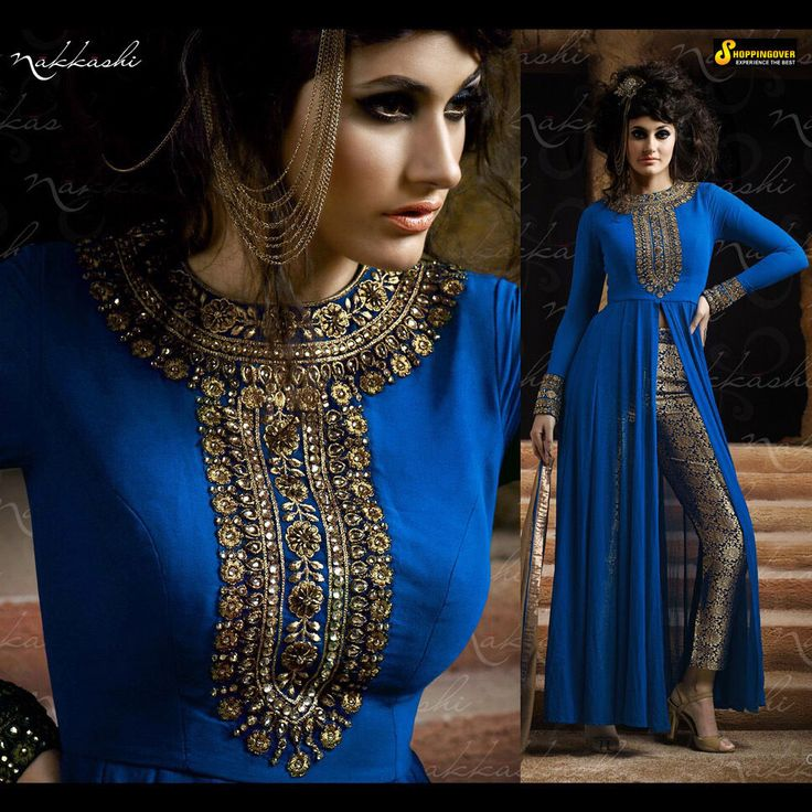 Ethnic wear designer bollywood haevy embroider fancy and party wear indian suit