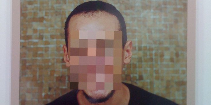 pixelated face - Google Search