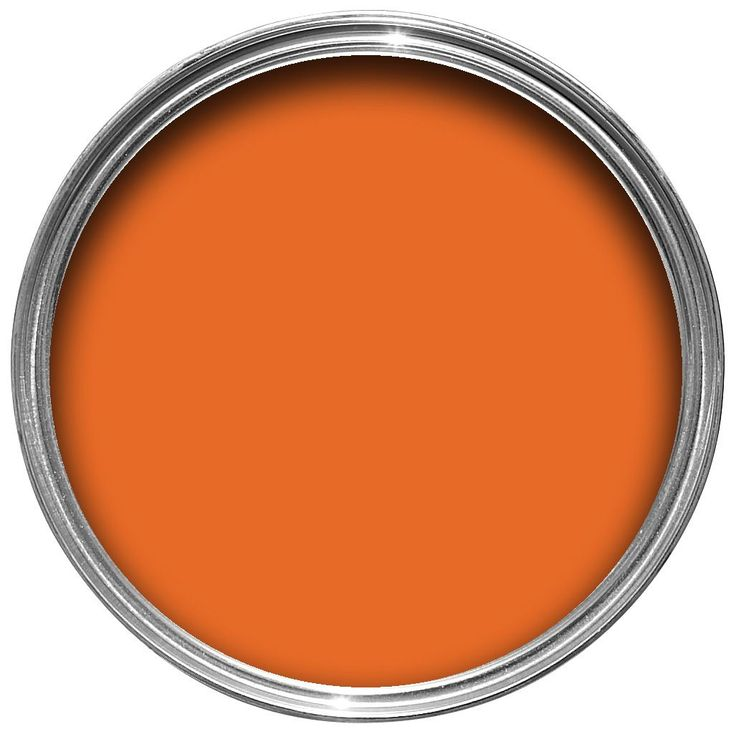 Colours Orange Matt Emulsion Paint 2.5L | Departments | DIY at B&Q