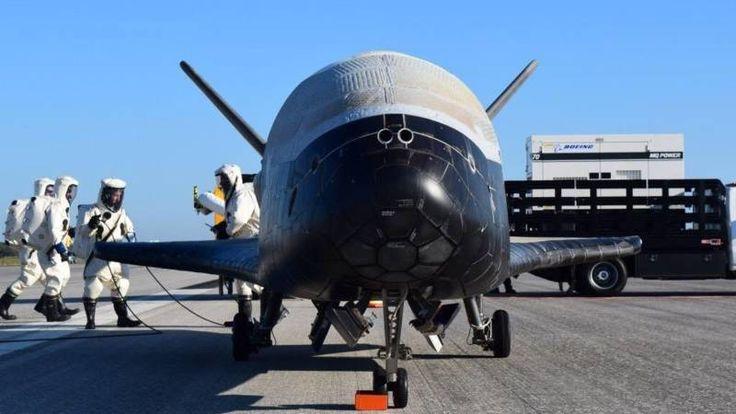 Wat de onbemande X-37B deed tijdens zijn ononderbroken vlucht van bijna twee jaar wil de Amerikaanse luchtmacht niet zeggen.