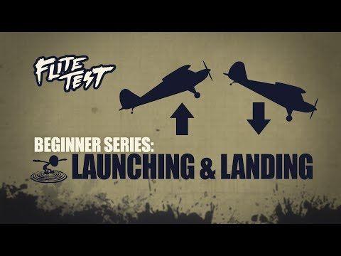 Flite Test: RC Planes for Beginners: Launching & Landing - Beginner Series - Ep. 4 - YouTube
