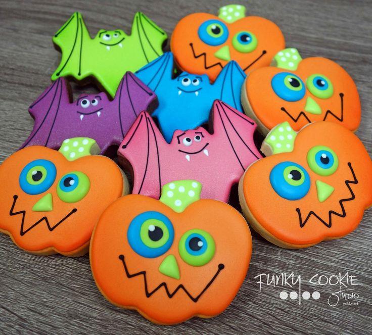 58 best Ideas Día de Muertos/Halloween images on Pinterest - halloween pumpkin cookies decorating