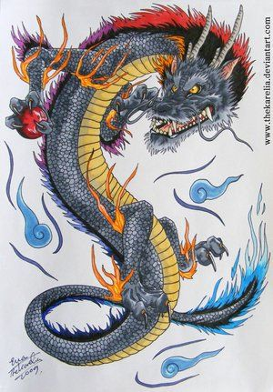 Google Image Result for http://th01.deviantart.net/fs47/300W/i/2009/290/7/7/Dragon_tattoo_design_by_TheKarelia.jpg
