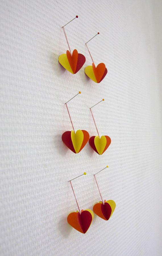 Leuk voor Pasen! Hartjes hangers | versiering van TienZes
