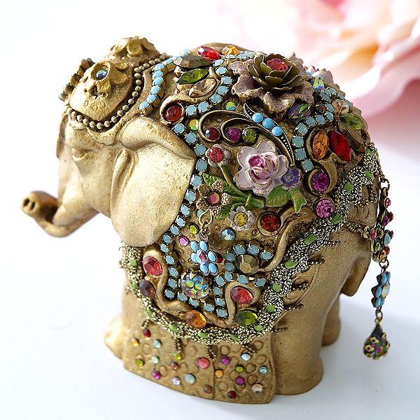 MICHAL NEGRIN SWAROVSKI JEWELLED ELEPHANT