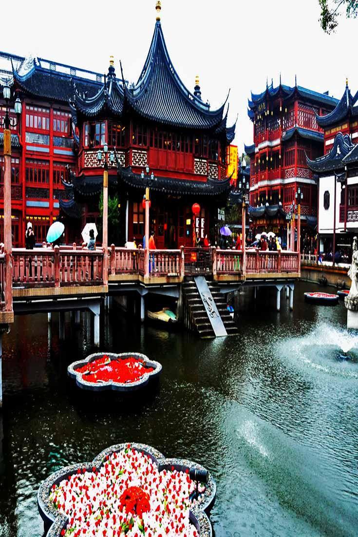 Yu Garden in Shanghai, China.