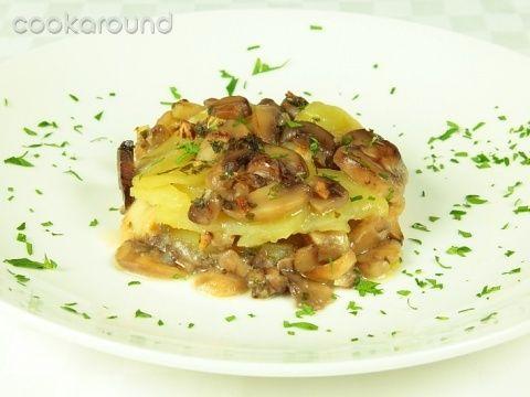 Sformato di funghi e patate: Ricette Cucina Vegetariana   Cookaround