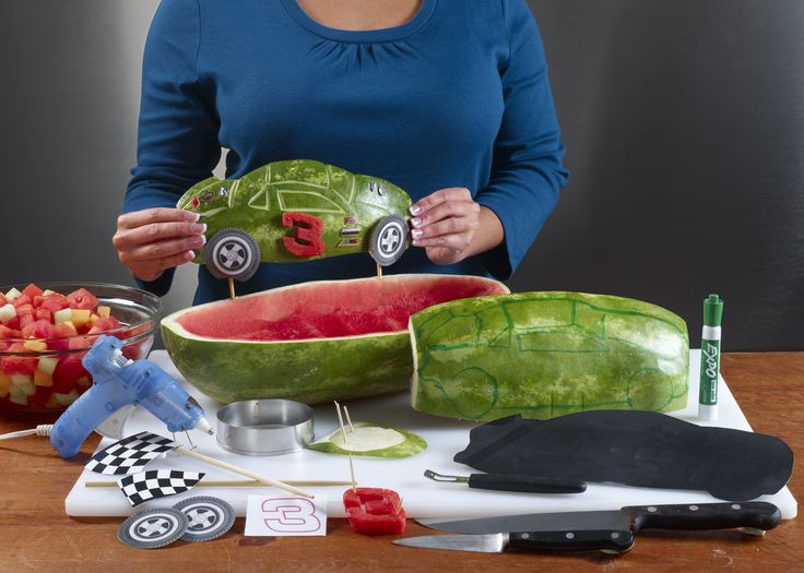 Watermelon Board | Nascar Race Car