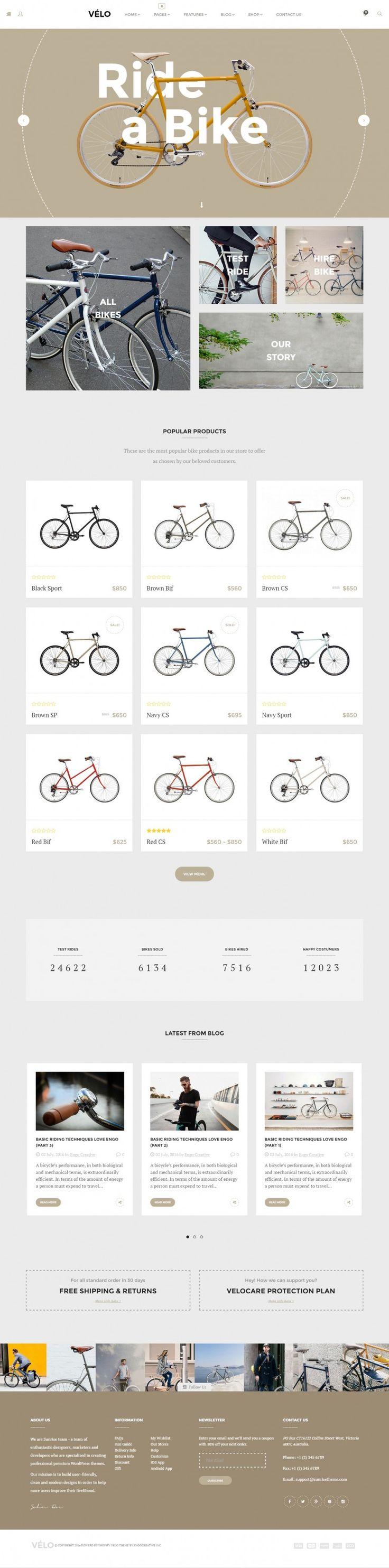 Velo – Bike Store on