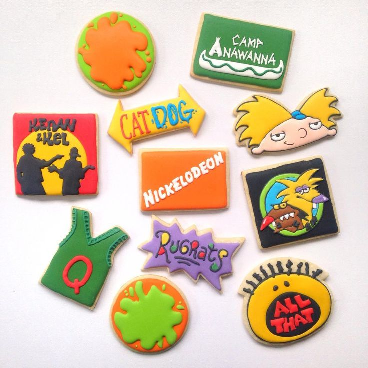 90's Nickelodeon Party
