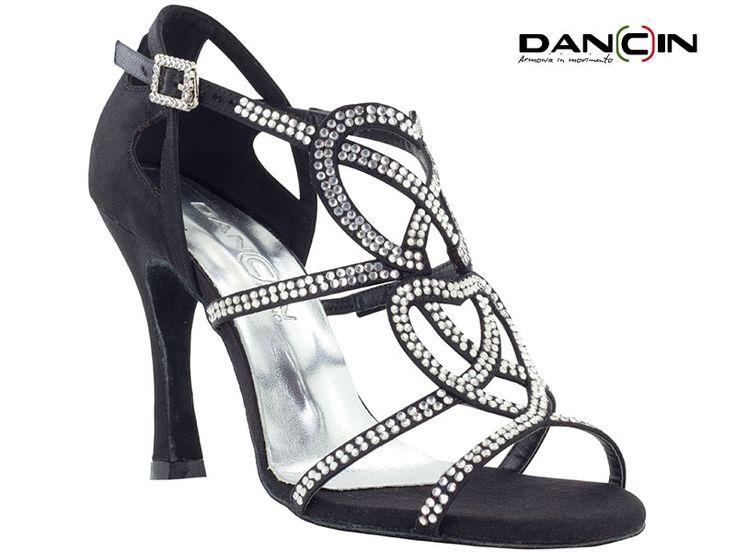 """sandalo ballo donna in raso """"regina di cuori """""""