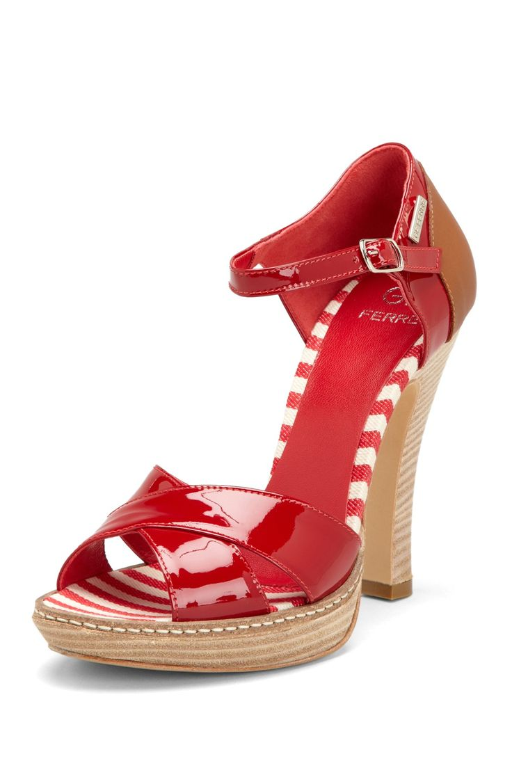 Open Toe Platform Sandal