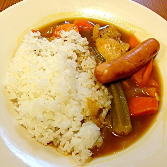 ウインナープラス〜 - 71件のもぐもぐ - 朝食 昨日の残りのスープカレー。 by tetsu0225