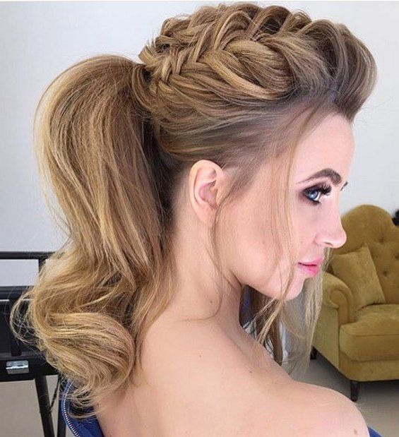 24 best Hairstyles images on Pinterest | Hairstyle ideas, Wedding ...
