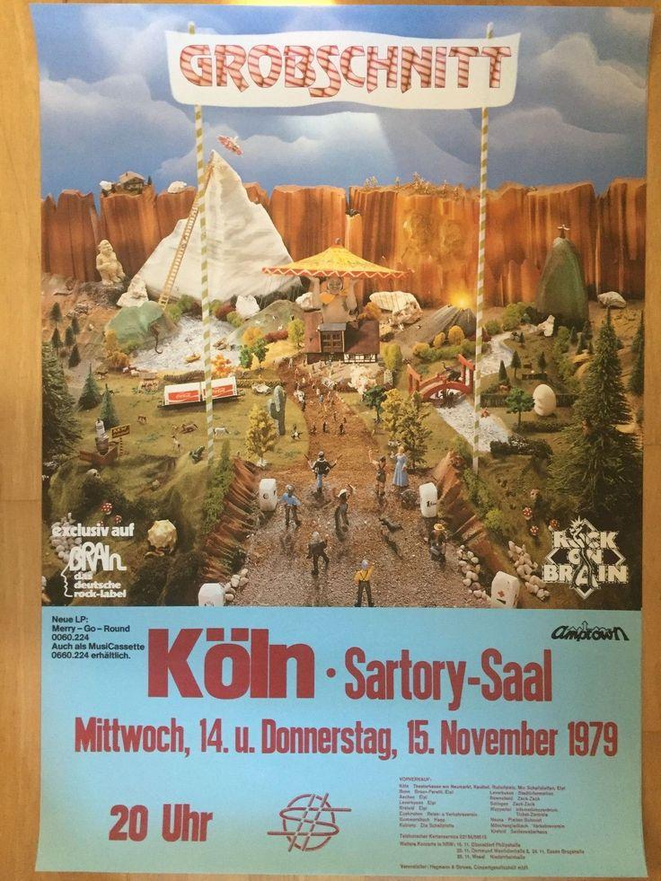 GROBSCHNITT 1979 KÖLN ++ orig.Concert Poster - Konzert Plakat NEU | eBay