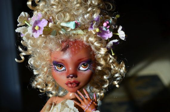 Custom Monster High Doll Repaint by TicketyBooCreations on Etsy