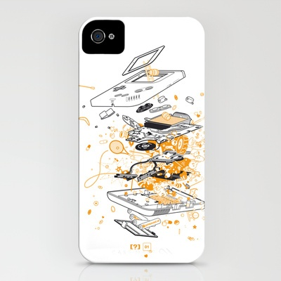 Exploded Game Boy iPhone Case by Game Paused - $35.00