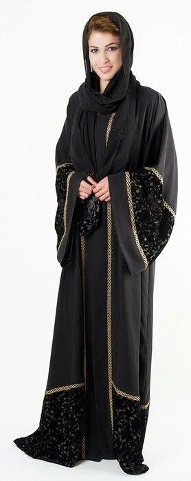 Dubai Luxury Abaya Abaya Fashion Pinterest Velvet