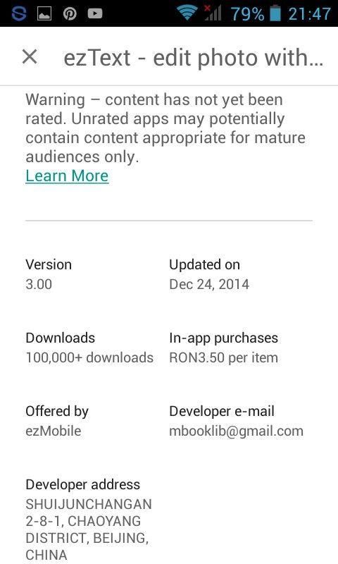 •ezText App• 11
