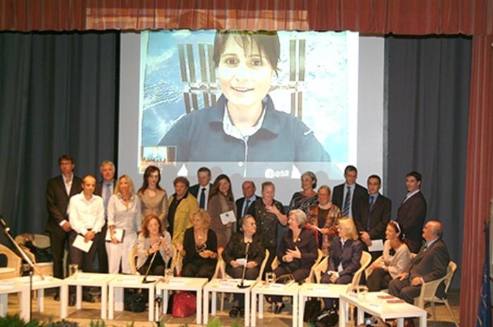 The first Italian astronaut Samantha Cristoforetti won Prima Donna Award in 2010