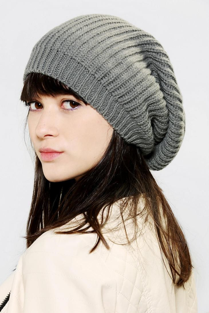 Super-slouchy and super-soft beanie from Deena & Ozzy.