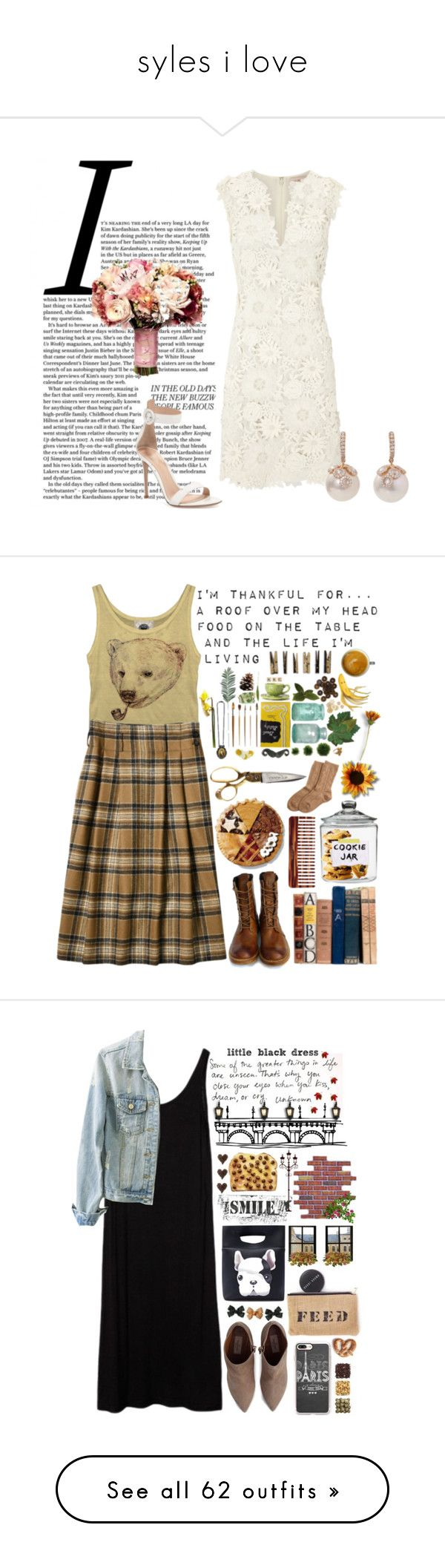 """syles i love"" by armsdani ❤ liked on Polyvore featuring Timberland Boot Company, OPTIONS, Mason Pearson, Bamford, Laundry, tartan, imthankfulfor, Lauren Pierce, Valentino and Casetify"