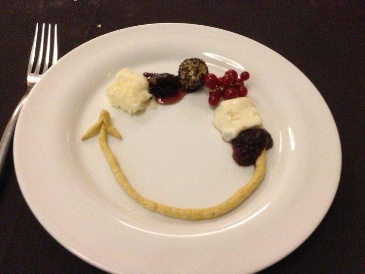 allegoria di formaggi Sheraton Hotel Bailliage Novara