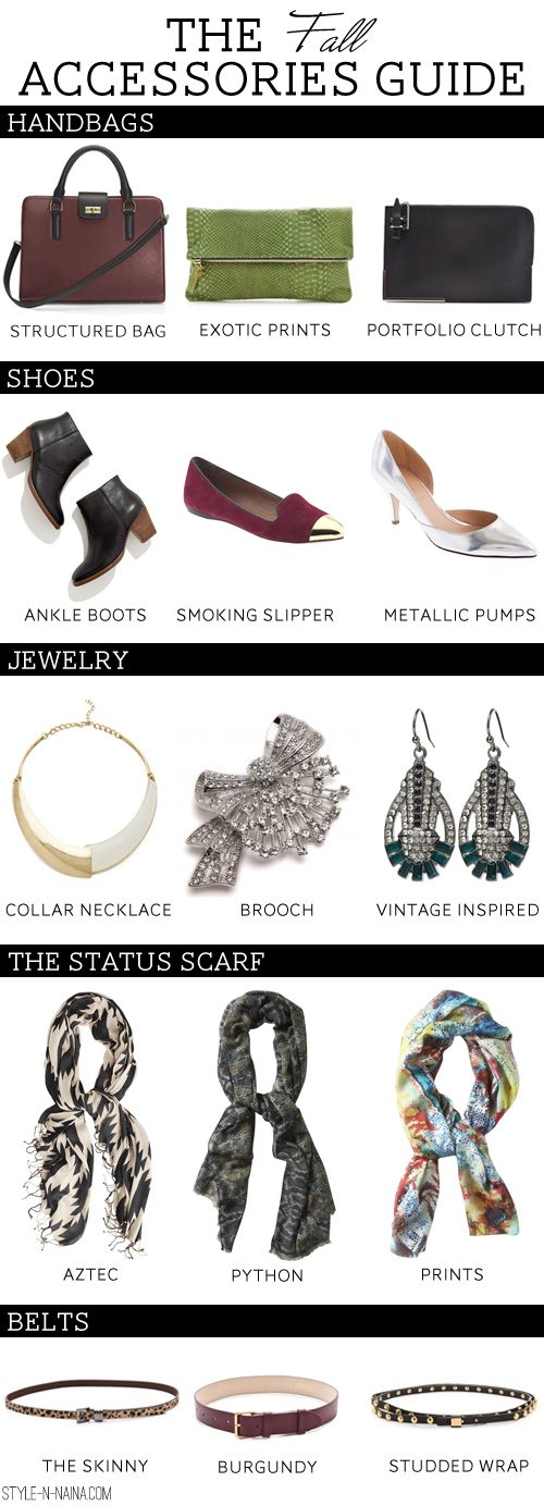 The Fall Accessories Guide   STYLE'N: Thanksth Fall, Accessories Guide, J Crew Styles Guide, Guide For, Stylen Awesome, Stylen Bloggerswelov, Internet Site, 2012 Fall, Fall Accessories