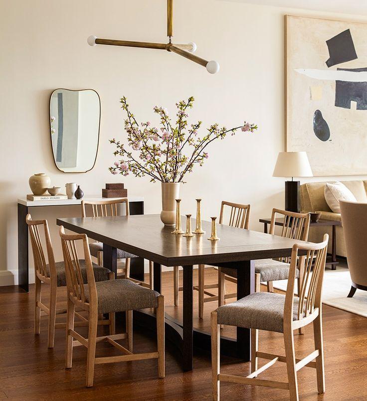 Alyssa Kapito Creates An Elegant Nest For Millennials Dining Room Inspiration Interior Interior Design
