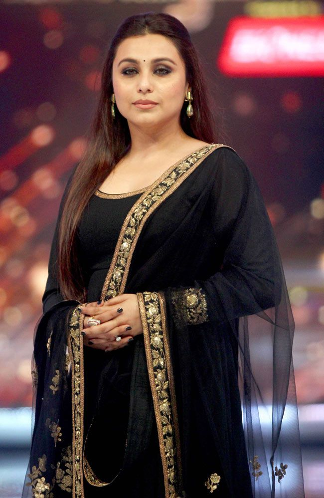 Rani Mukerji promotes 'Mardaani' on 'Jhalak Dikhhla Jaa 7'. #Style #Bollywood #Fashion #Beauty