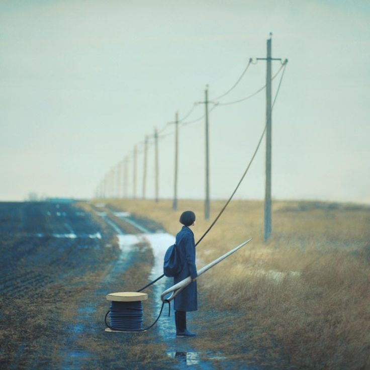Oleg Oprisco, a young Ukrainian photographer who uses only film photography and old cameras to capture his captivating and dreamlike compositions, created from real objects.