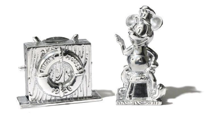 Disney Steamboat Willie Salt and Pepper Set