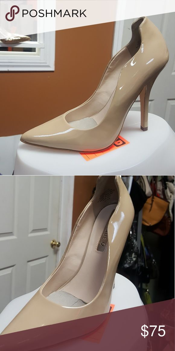 Nude Boutique 9 patent heel shoes, pointed toes Brand new, upper leather / patent Boutique 9 Shoes Heels