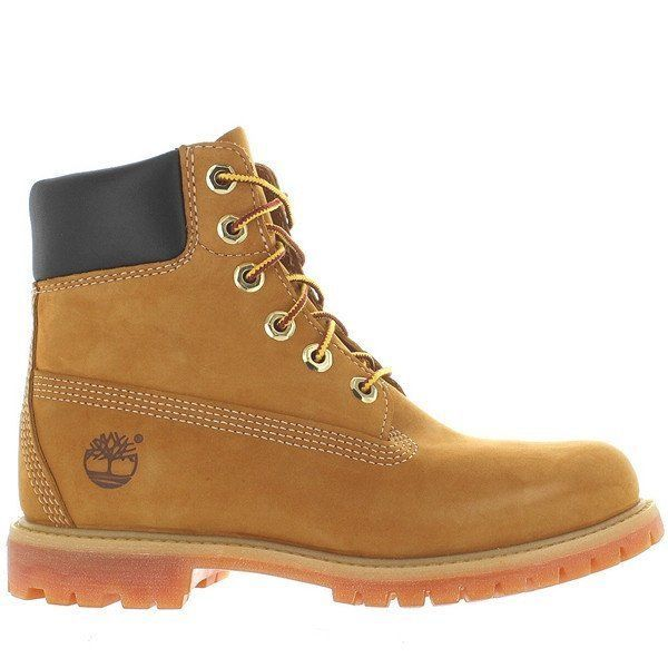 TIMBERLAND SALE Women's 6 inch Premium Waterproof Boot Boots Wheat Tan 8M 10361 #Timberland #WorkSafety