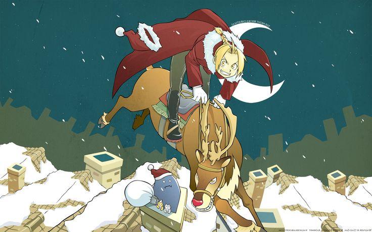 Anime Christmas Wallpaper HD