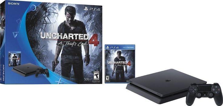 PlayStation 4 Slim Console - Plus Uncharted 4 Bundle   | eBay