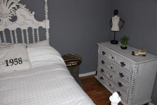 Bed and drawers makeover