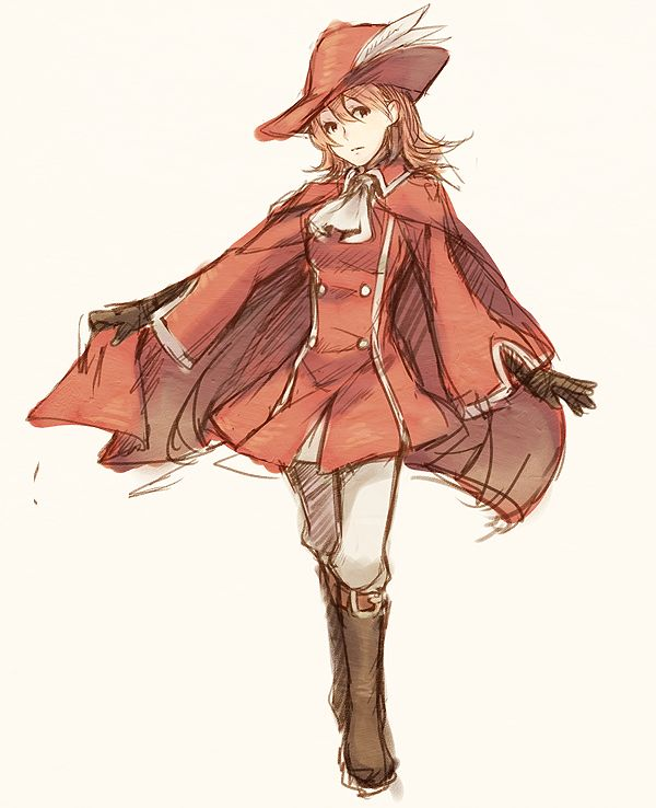 Red Mage by 1-kilometer.deviantart.com on @deviantART