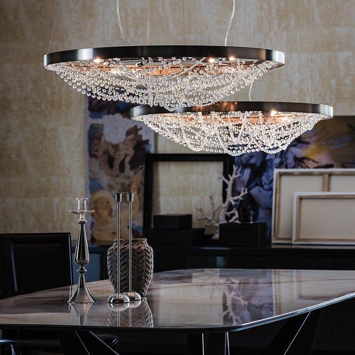 Die besten 25+ Kristall deckenleuchte Ideen auf Pinterest - deckenleuchte wohnzimmer design