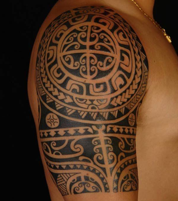 tatuagem maori masculina