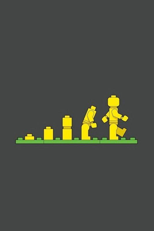 #Lego Evolution - #illustration
