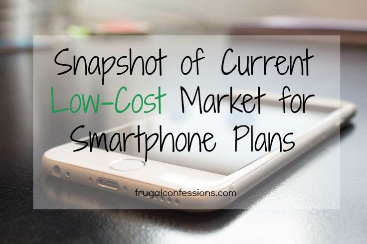 If you are in the market for a smartphone as well, then read along as I compare cell phone plans to see what the current low-cost market is offering.